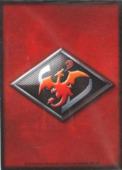 Pokemon Black & White 32ct. Sleeves - Smoke Red Charizard Emblem on Ideal808