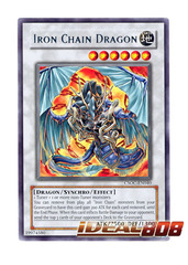 Iron Chain Dragon - Rare - CSOC-EN040 (1st Edition) on Ideal808
