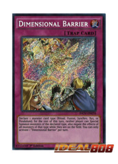 Dimensional Barrier - INOV-EN078 - Secret Rare - 1st Edition
