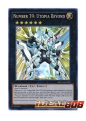 Number 39: Utopia Beyond - NECH-EN095 - Super Rare - Unlimited Edition