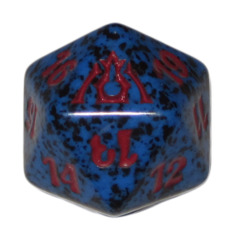 MTG Spindown 20 Life Counter - Dragon's Maze (Izzet - Blue/Red)