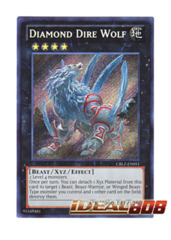 Diamond Dire Wolf - CBLZ-EN051 - Secret Rare - Unlimited Edition