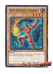 Gem-Knight Garnet - HA05-EN001 - Super Rare - 1st Edition