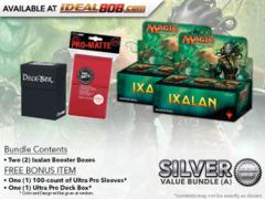 MTGXLN Bundle (A) Silver - Get x2 Ixalan Booster Box + FREE Bonus Items * PRE-ORDER Ships Sep.29