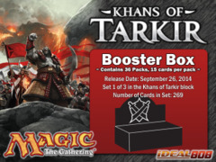 Magic Khans of Tarkir (KTK) Booster Box on Ideal808