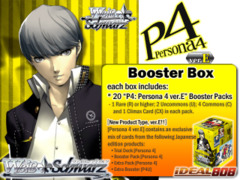 P4: Persona 4 ver.E (English) Weiss Schwarz Booster Box on Ideal808