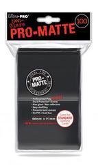 Ultra Pro 100ct Pro-Matte Large Sleeves - Black (#84515)