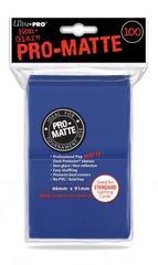 Ultra Pro 100ct Pro-Matte Large Sleeves - Blue (#84514)