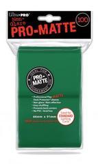 Ultra Pro 100ct Pro-Matte Large Sleeves - Green (#84517)