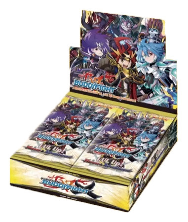 BFE-X-BT03A LVL UP! Heroes and Adventurers (English) Future Card Buddyfight X Booster Box * PRE-ORDER Ships Sep.22