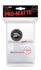 Ultra Pro 100ct Pro-Matte Large Sleeves - White (#84513)