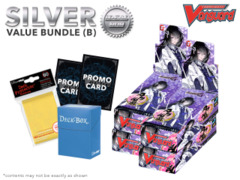 Cardfight Vanguard G-TB02 Bundle (B) Silver - Get x4 Touken Ranbu -ONLINE- 2 Booster Box + FREE Bonus Items