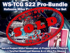 Weiss Schwarz S22 Pro-Bundle - Get x4 Project DIVA Booster Boxes plus x1 YuruYuri #392 Sleeve, x1 Promo Playmat & more ** In-Sto on Ideal808