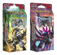 SM Sun & Moon - Crimson Invasion (SM04) Pokemon Theme Deck Set - Kommo-o & Hydreigon * PRE-ORDER Ships Nov.03