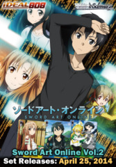 Sword Art Online Vol.2 (English) Weiss Schwarz Booster Box * Pre-Order Ships April 25, 2014 on Ideal808