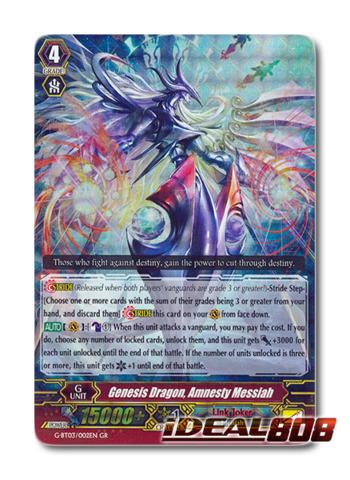 Genesis Dragon, Amnesty Messiah - G-BT03/002EN - GR