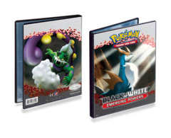Pokemon Black & White 4-pocket Album - Cobalion & Tornadus on Ideal808