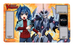 Case Topper Promo Playmat - [Aichi/Majesty Lord Blaster] BT05 Awakening of Twin Blades