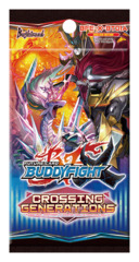 BFE-X-BT01A Crossing Generations (English) Future Card Buddyfight X Booster Pack