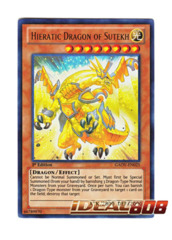 Hieratic Dragon of Sutekh - Ultra - GAOV-EN025 (1st Edition) ** In-Stock! Ready to Ship! on Ideal808