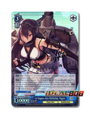 1st Nagato-class Battleship, Nagato [KC/S25-E128SP SP (SIGNED FOIL)] English
