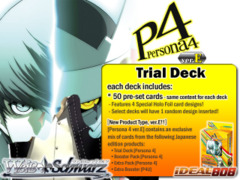 P4: Persona 4 ver.E (English) Weiss Schwarz Trial Deck ** Pre-Order Ships October 24, 2014 on Ideal808