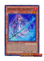 Shiranui Spectralsword - MP16-EN199 - Ultra Rare - 1st Edition