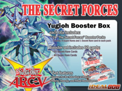 Yugioh The Secret Forces Booster Box (1st Edition) ** Available Now!!!
