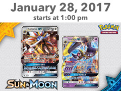 [EVENT TICKET] ToyLynx - Dole Cannery - Pokemon Sun & Moon Prerelease<br 12>[January 28, 2017 at 1:00 pm] <br> * Limit 1 per *