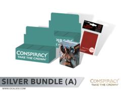 MTGCN2 Bundle (A) Silver - Get x2 Conspiracy 2: Take the Crown Booster Box + FREE Bonus Items
