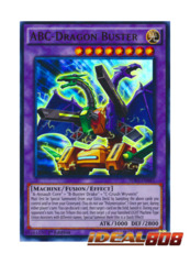 ABC-Dragon Buster - SDKS-EN041 - Ultra Rare - 1st Edition