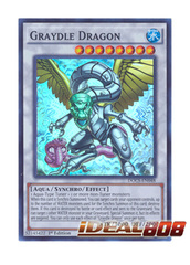 Graydle Dragon - DOCS-EN048 - Super Rare - 1st Edition