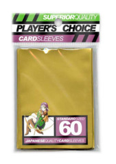 Player's Choice Standard Card Sleeves - Gold