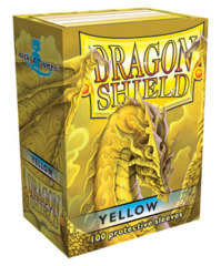 Dragon Shield Standard-size (100ct) Sleeves - Yellow