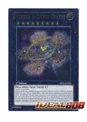 Number 9: Dyson Sphere - ABYR-EN044 - Ultimate Rare - 1st Edition