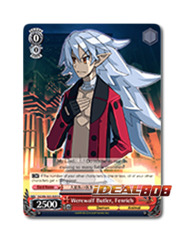 Werewolf Butler, Fenrich [DG/EN-S03-E093SP SP (SIGNED FOIL)] English