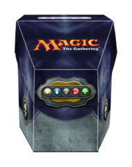 Magic the Gathering Commander Deck Box - Mana Black on Ideal808
