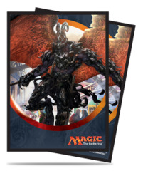 Magic the Gathering Aether Revolt Ultra Pro Sleeve 80ct - Herald of Anguish (#86488)