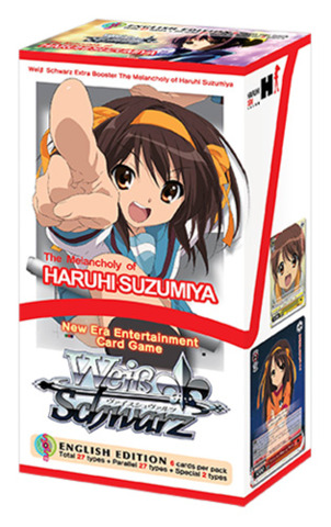 The Melancholy of Haruhi Suzumiya (English) Weiss Schwarz Extra Booster Box