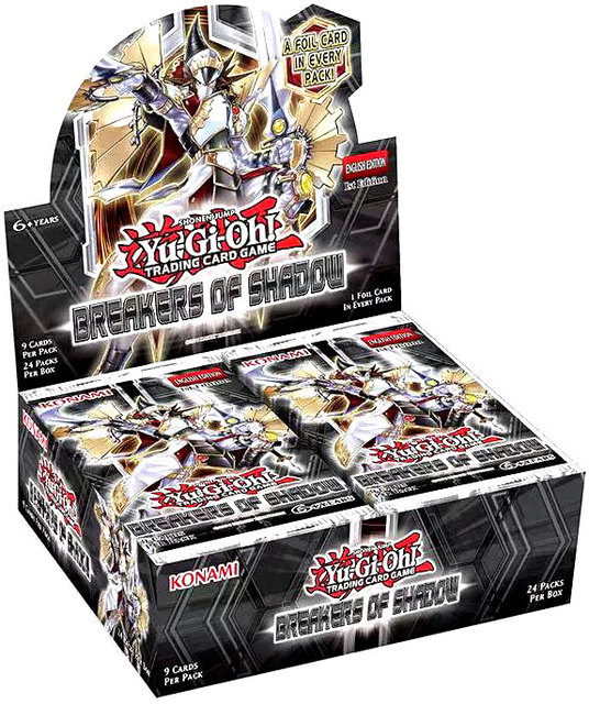 Breakers of Shadow Booster Box 1st Edition