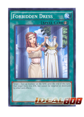 Forbidden Dress - SDMP-EN033 - Common - 1st Edition