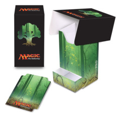 Magic the Gathering MANA 5 Ultra Pro Deck Box with Tray - Forest (#86535)