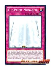The Prime Monarch - SR01-EN034 - Common - 1st Edition