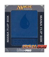 Magic the Gathering Mana Symbol Deck Box - Blue on Ideal808