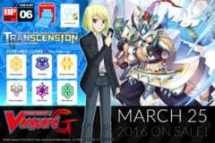 G-BT06 Transcension of Blade & Blossom (English) G Booster Box ** Pre-Order Ships 3/25