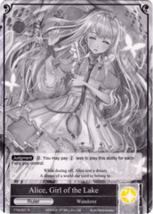 Alice, Girl of the Lake // Alice, Fairy Queen [TTW-001 UR (Uber Rare Foil Ruler)] English