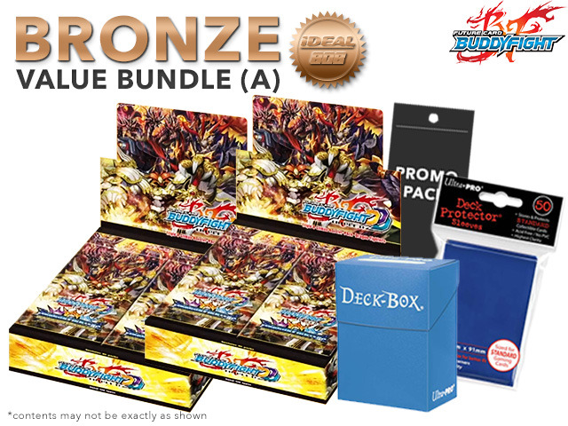 FC-Buddyfight D-CBT01 Bundle (A) Bronze - Get x2 Dragon Fighters Climax Booster Box + FREE Bonus * PRE-ORDER Ships Feb.24