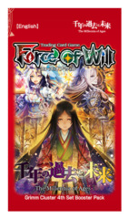 BG04 The Millennia of Ages (English) Force of Will Booster Pack