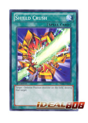 Shield Crush - YSKR-EN038 - Common - 1st Edition