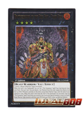 Brotherhood of the Fire Fist - Tiger King - CBLZ-EN048 - Ultimate Rare - 1st Edition